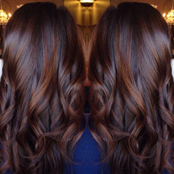 Chocolate Hair Color Salon Suites