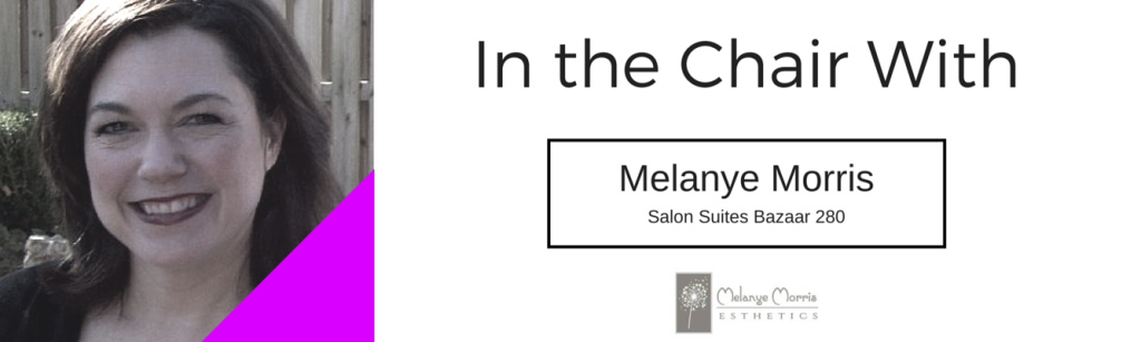 In the Chair with Melanye Morris