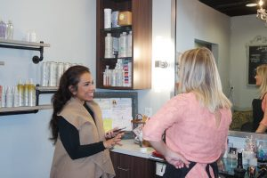 Chic Hair Makeover with Chic in Academia at Haley's Hair Boutique